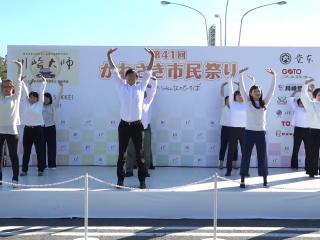 川崎市民まつりのステージ