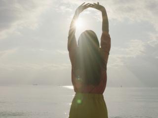 ゆったりとした気功で、心も体もキレイになれる!
